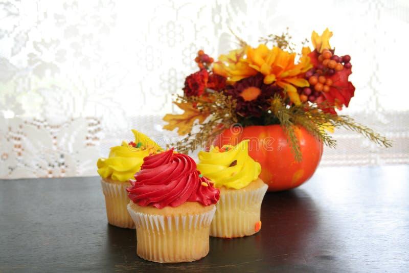 Colorful Cupcake stock photos