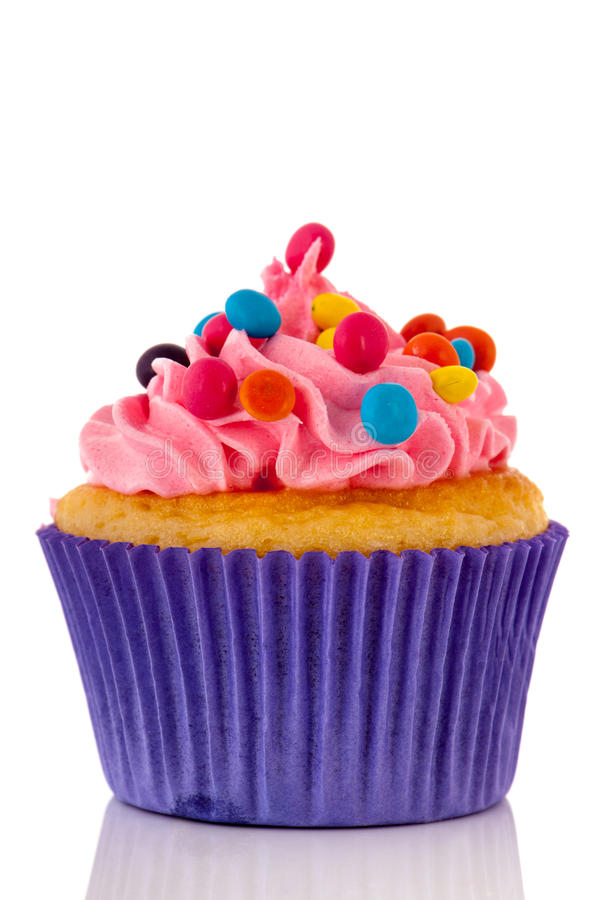 Colorful cupcake stock images