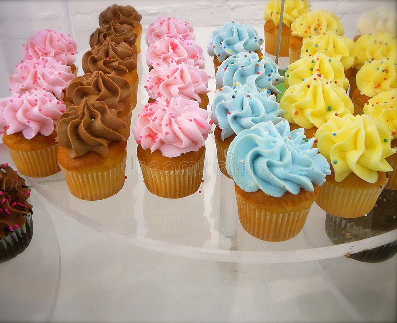Download Colorful Cupcakes stock image. Image of cupcakes, gift - 2324981