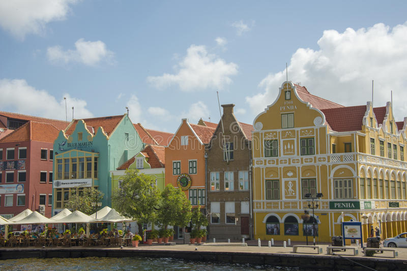 Colorful Curacao royalty free stock image