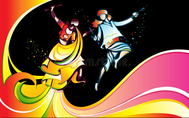 Download Colorful Dandiya Stock Photography - Image: 27001902