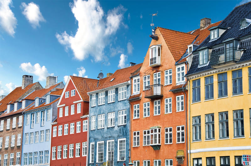 Download Colorful Danish Houses Near Famous Nyhavn Canal In Stock Image - Image: 16742467
