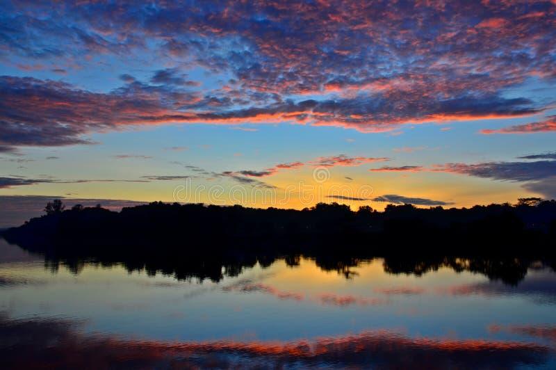 Colorful Dawn stock photos