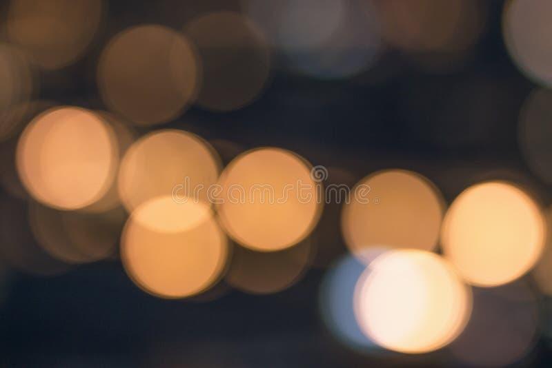 Colorful defocused bokeh lights. Bokeh background stock photography