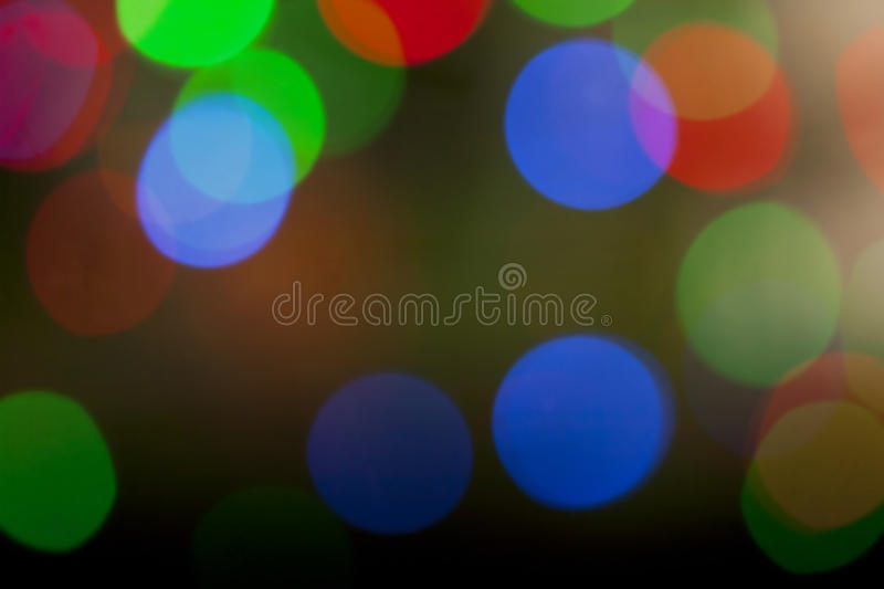 Download Colorful Defocused Christmas Lights Stock Photo - Image: 21934112