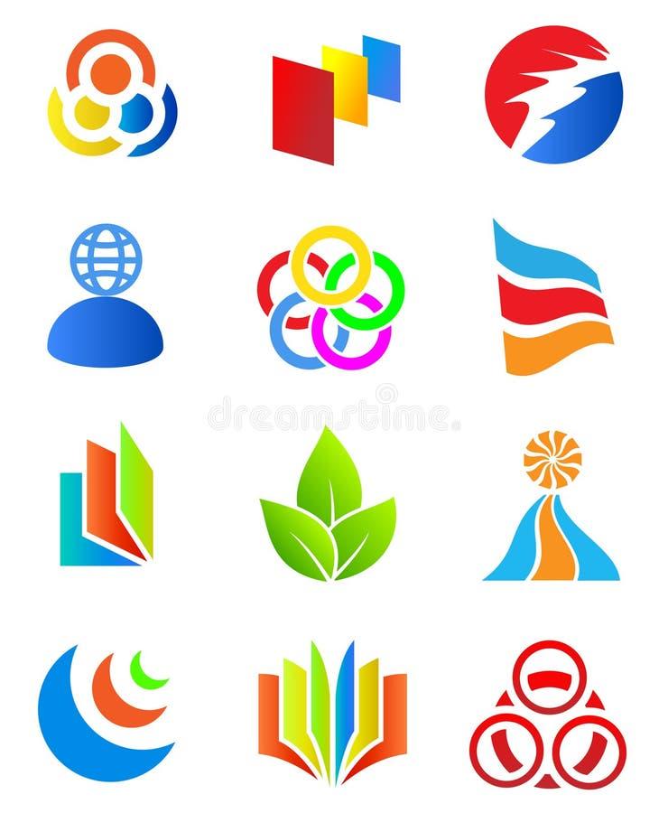 Colorful design elements. vector illustration