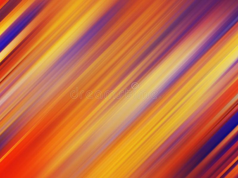 Colorful diagonal lines pattern, abstract gradient background stock photography