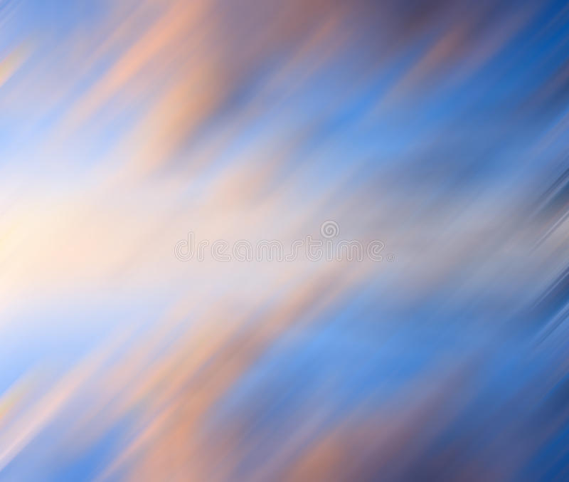 Colorful diagonal motion blur royalty free illustration