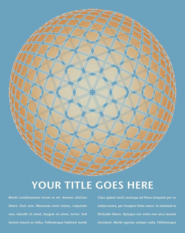 Download Colorful Digital Globe Design. Stock Vector - Image: 18007792