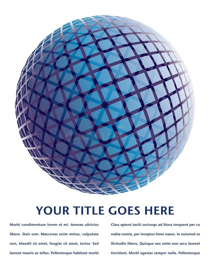 Download Colorful Digital Globe Design. Stock Vector - Image: 18054196