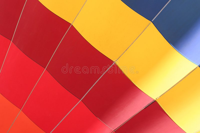 Colorful dirigible close-up royalty free stock images
