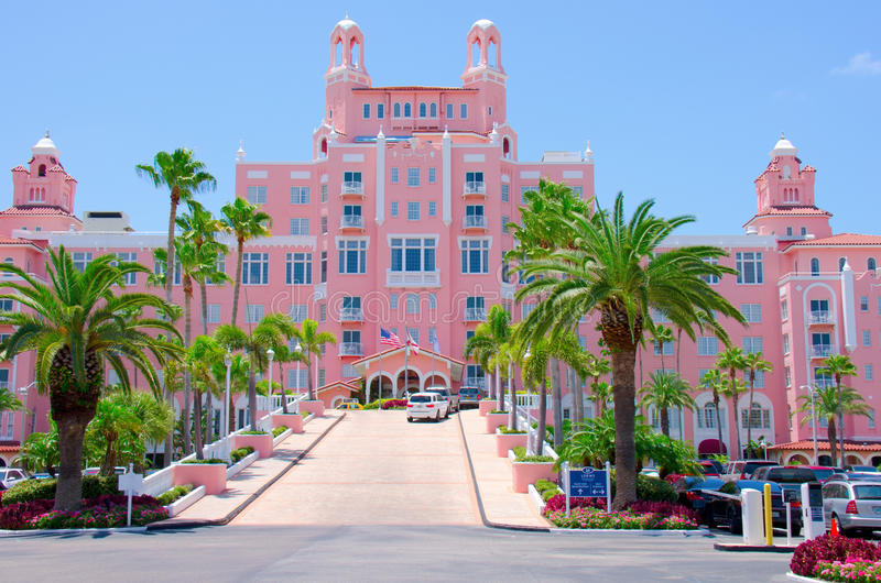 Download Colorful Don Cesar Resort Saint Pete Beach Florida Editorial Photo - Image: 32876686