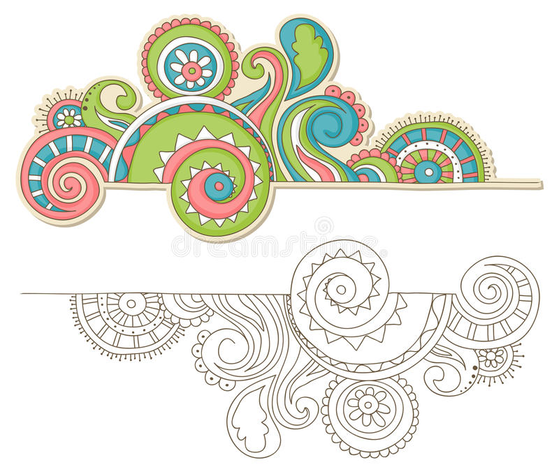 Download Colorful doodle stock vector. Illustration of graphic - 25144094