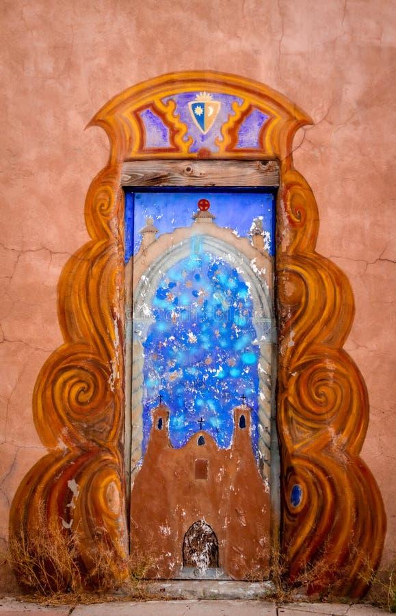 Download Colorful Doors Of Santa Fe NM Stock Photo - Image of orange home & Colorful Doors Of Santa Fe NM Stock Photo - Image of orange home ...