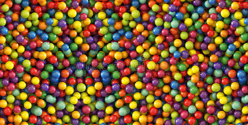 Colorful dragee balls background. Photo Pattern design for banner, poster, flyer, card, postcard, cover, brochure. High Resolution royalty free stock photo