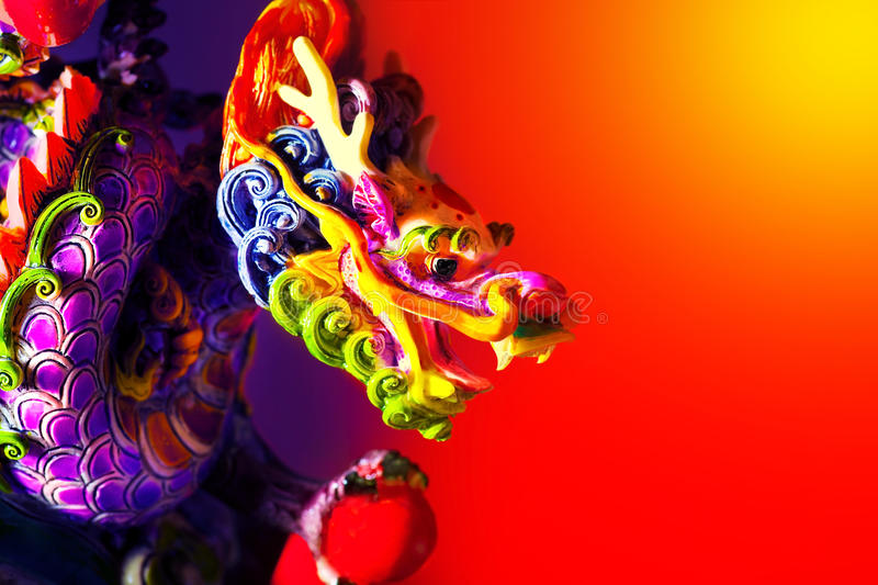 Download Colorful dragon stock photo. Image of border, astrology - 22439078