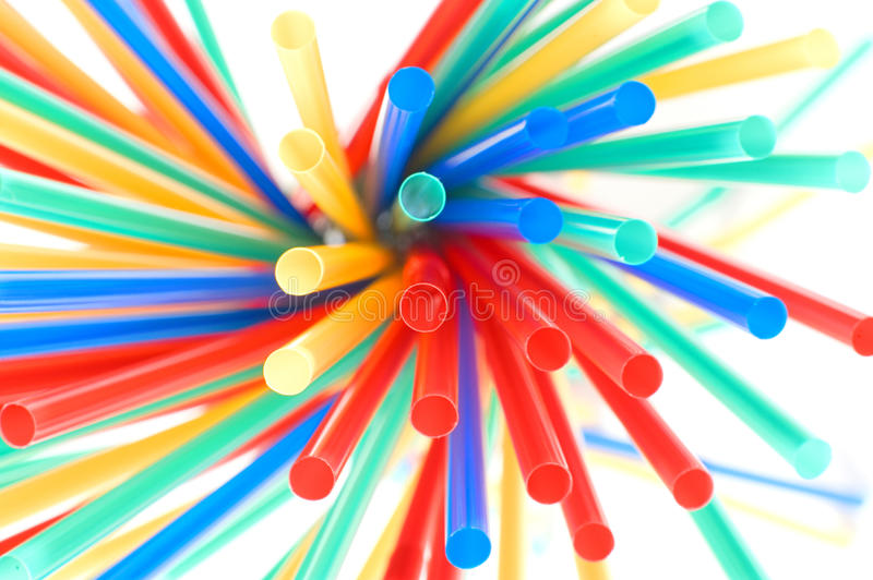 Download Colorful drinking straws stock image. Image of line, party - 16887239