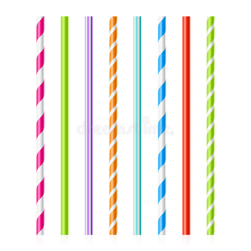 Free Colorful Drinking Straws Stock Photos - 46794013