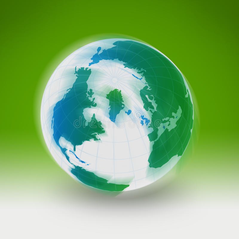 Colorful Earth stock image