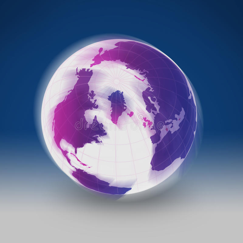 Colorful Earth royalty free stock images