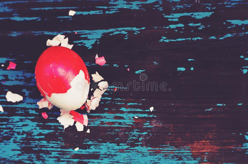 Colorful easter eggs. royalty free stock photo