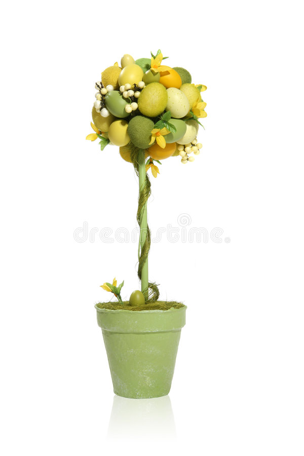 Free Colorful Easter Egg Tree Stock Photo - 2081000