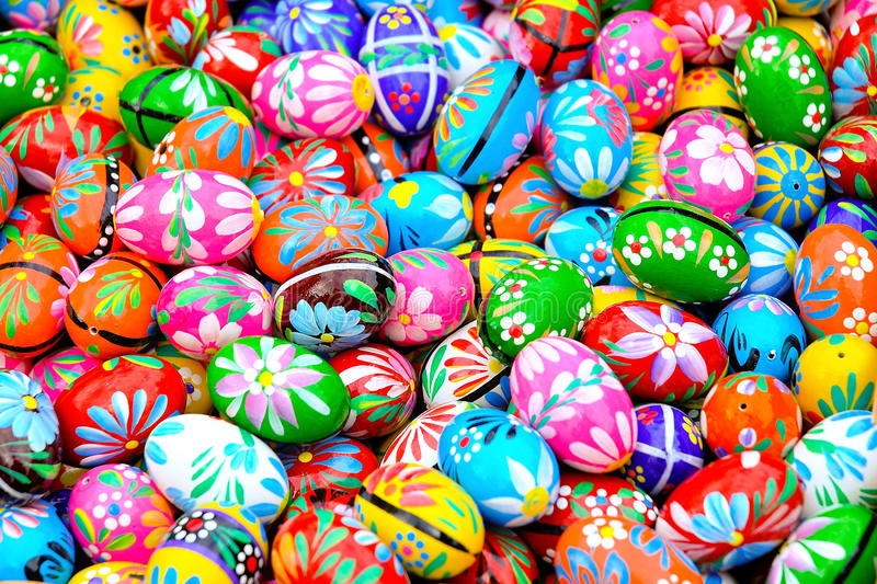 Download Colorful eastern eggs stock photo. Image of religious - 15092512