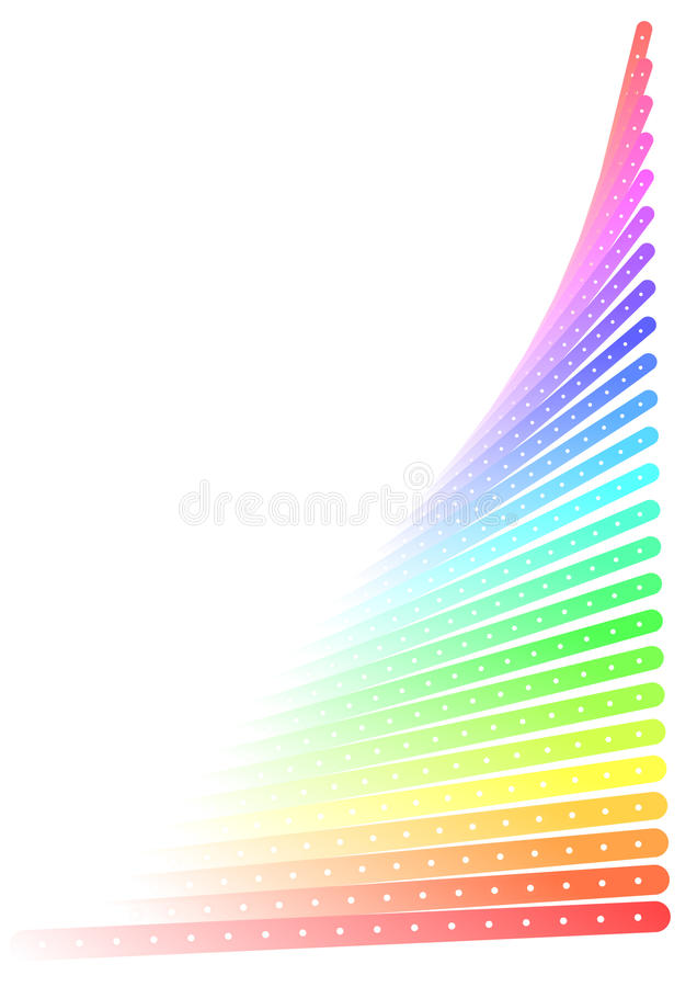 Download Colorful effect stock vector. Image of rainbow, bars - 19769149