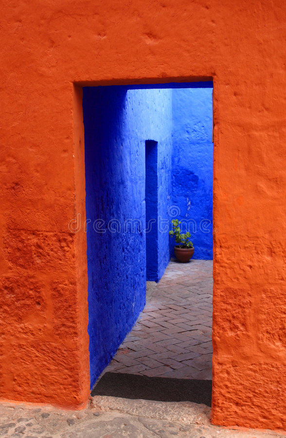 Download Colorful entrance stock image. Image of culture, colourful - 6185133