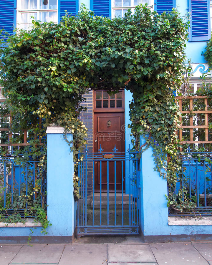Colorful Entrance, Notting Hill, London Stock Photos