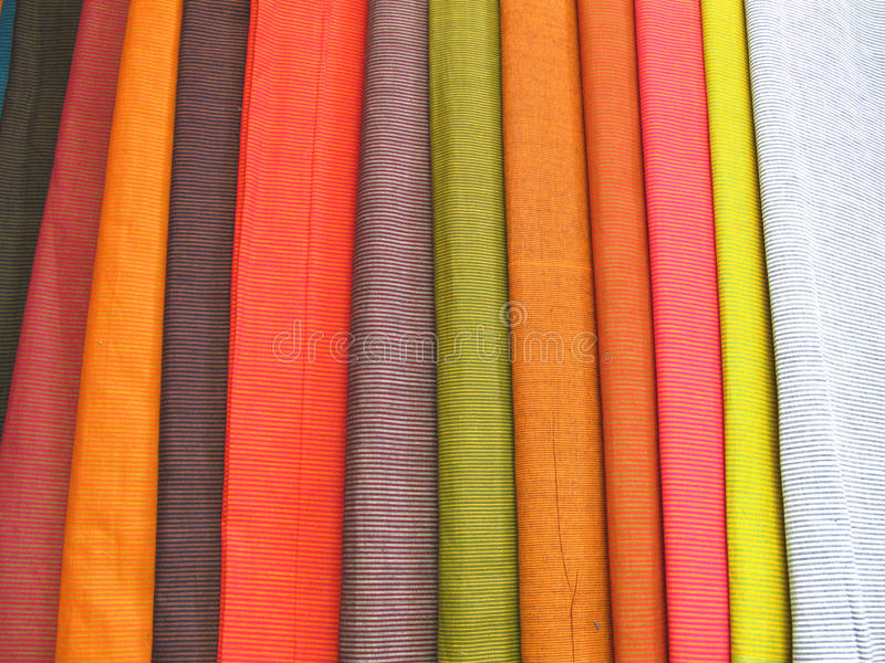 Download Colorful Fabrics 2 stock image. Image of color, closeup - 17486903