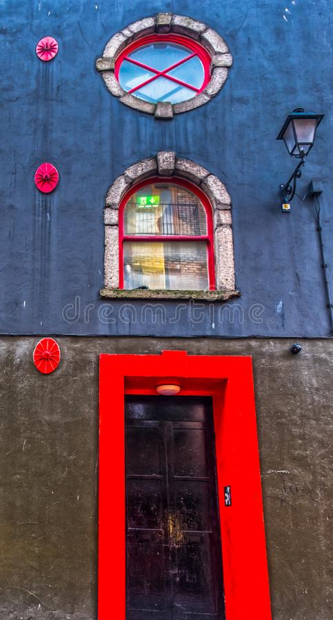 Dublin-Colorful Facade royalty free stock photos