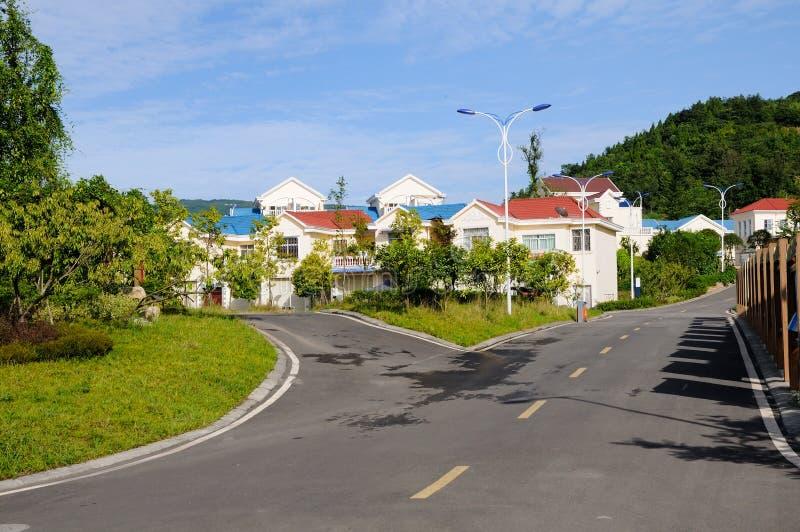 Colorful Farmhouses Stock Photos
