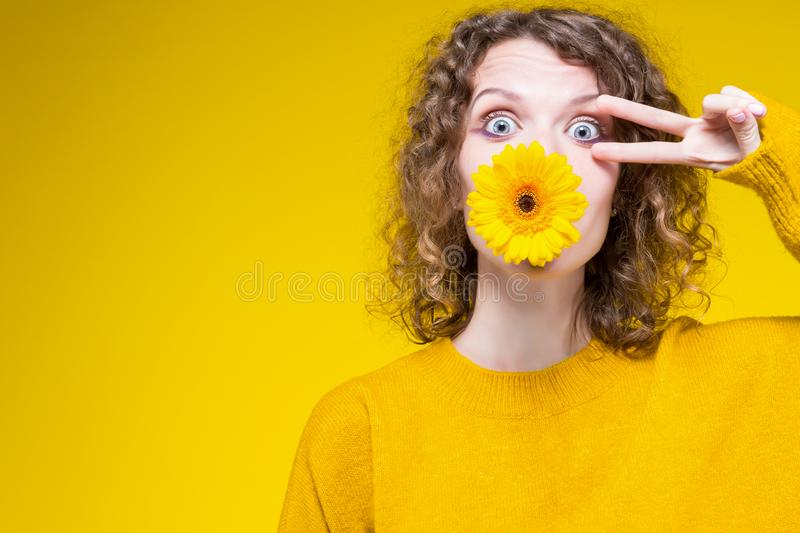 Colorful fashion beauty sexy skinny woman royalty free stock photography