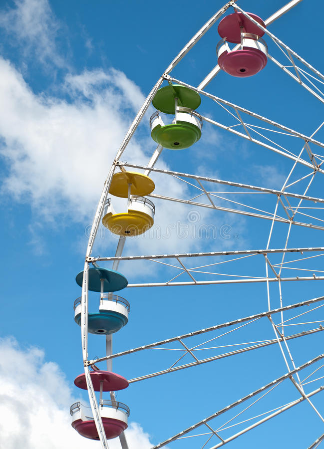 Colorful Ferris Wheel Stock Images