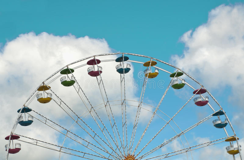 Download Colorful ferris wheel stock photo. Image of colorful - 20965576