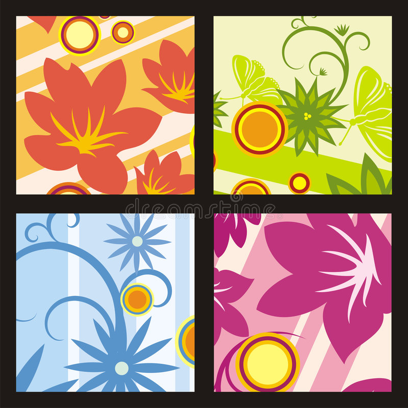 Free Colorful Floral Background Royalty Free Stock Photo - 2365585