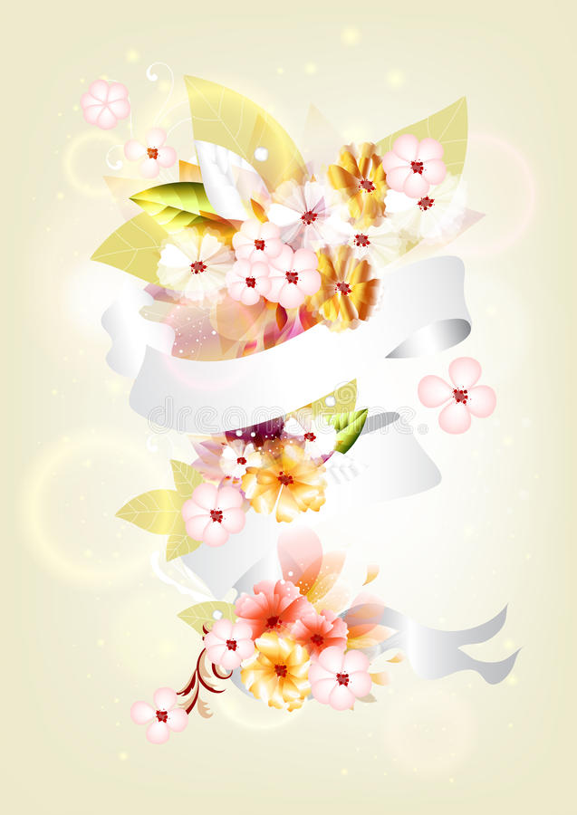 Download Colorful Floral Composition Stock Vector - Image: 25486485