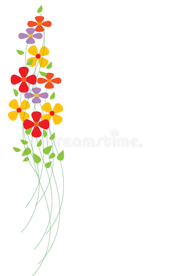 Download Colorful Flowers stock vector. Illustration of blooming - 10405821