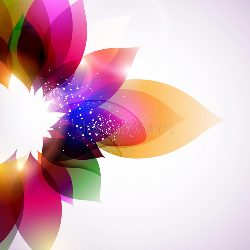 Colorful flowers. vector illustration