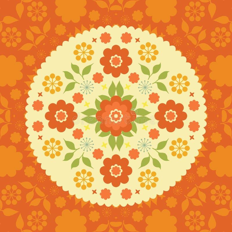 Download Colorful Flowers Floral Background Stock Illustration - Image: 32044725
