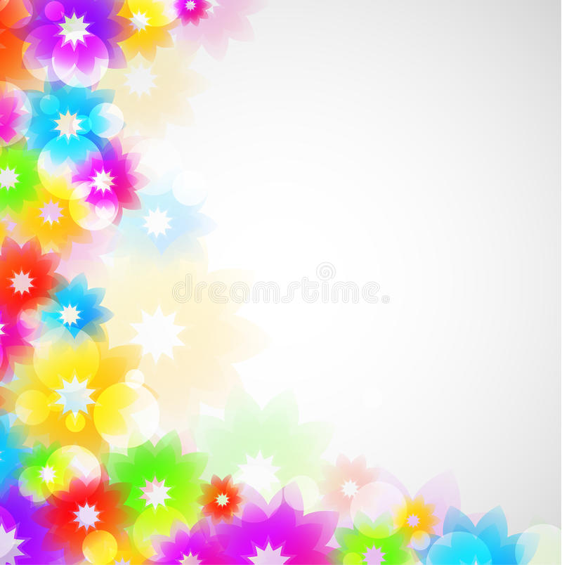 Colorful Flowes Royalty Free Stock Image