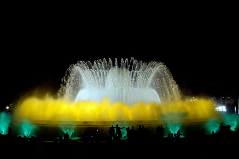 Download Colorful fountain stock image. Image of park, architecture - 28037625