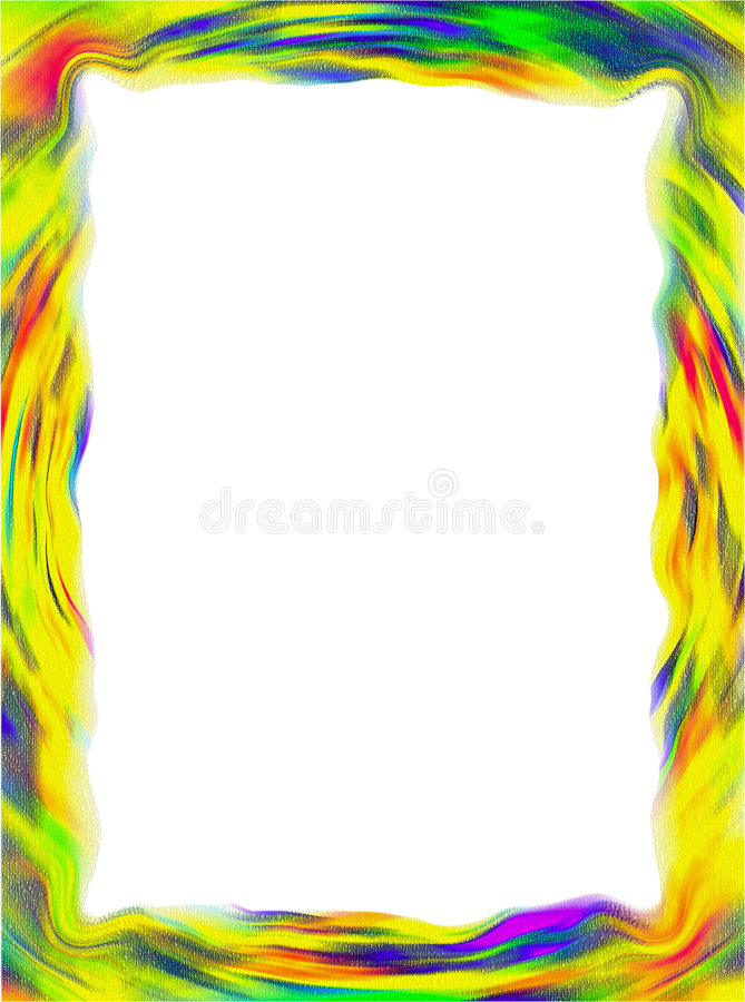 Download Colorful Frame / Border stock illustration. Illustration of colorful - 8586965