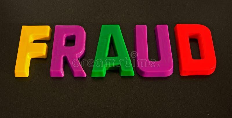 A colorful fraud ? stock photos