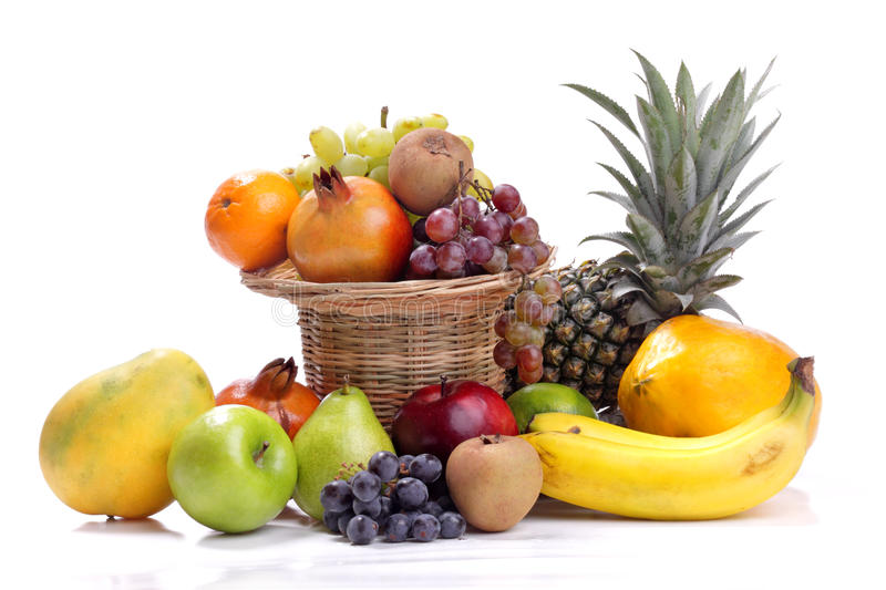 Colorful Fresh Fruits Royalty Free Stock Images