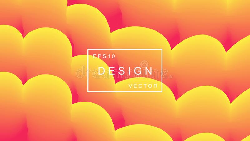 Colorful geometric background. Abstract shapes composition. EPS10 modern vector design vector illustration