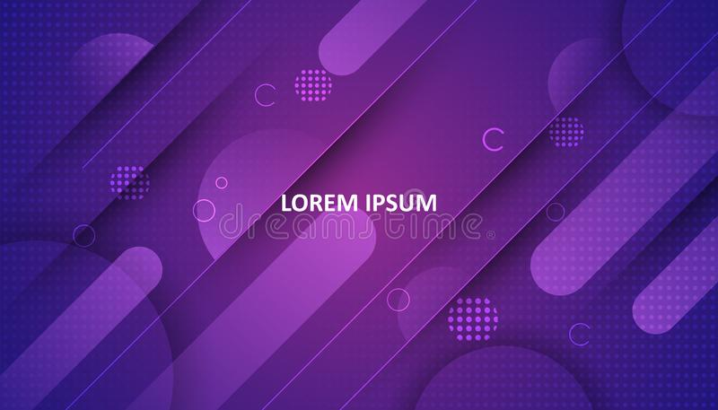 Colorful geometric background. Gradient background bright colors and dynamic shape compositions . Vector Illustration stock illustration