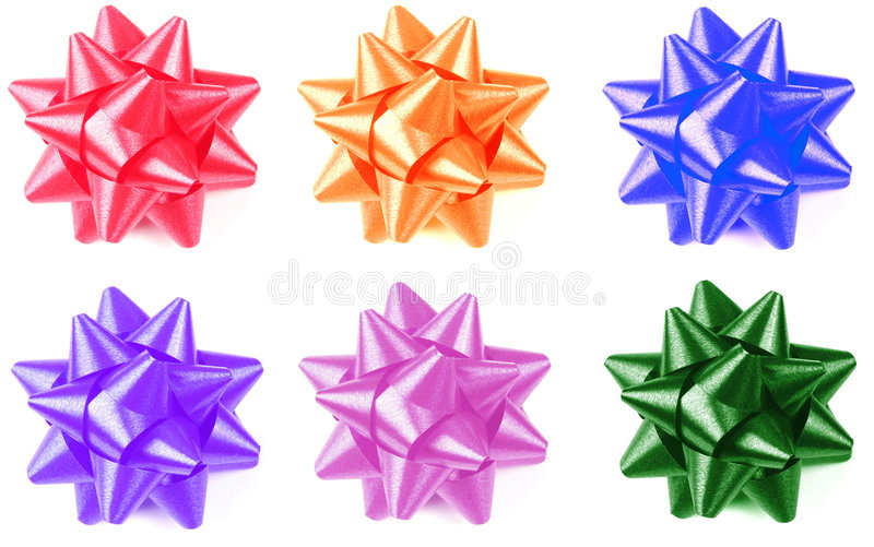 Download Colorful Gift Bow stock illustration. Image of gift, christmas - 5850061