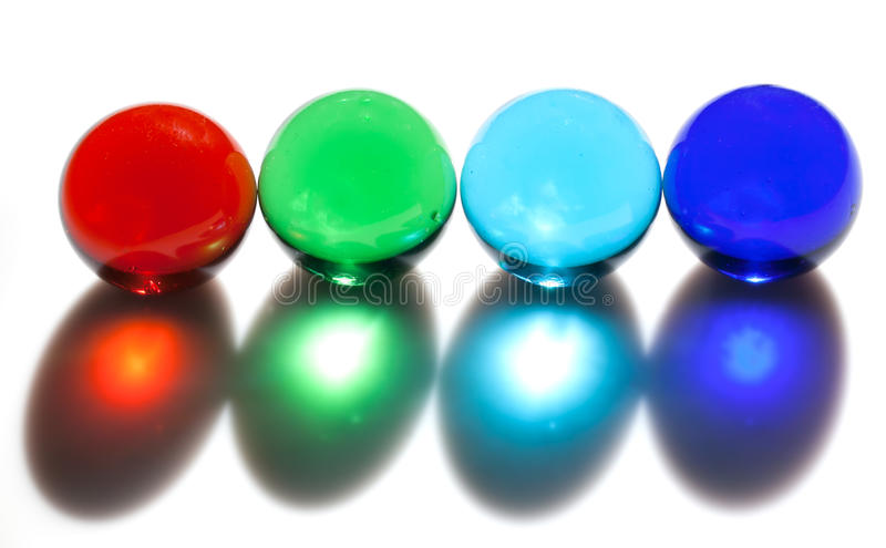 Download Colorful glass balls stock photo. Image of isolated, perfect - 33784050